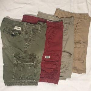 Boy's cargo shorts size 12/14 Abercrombie Lucky